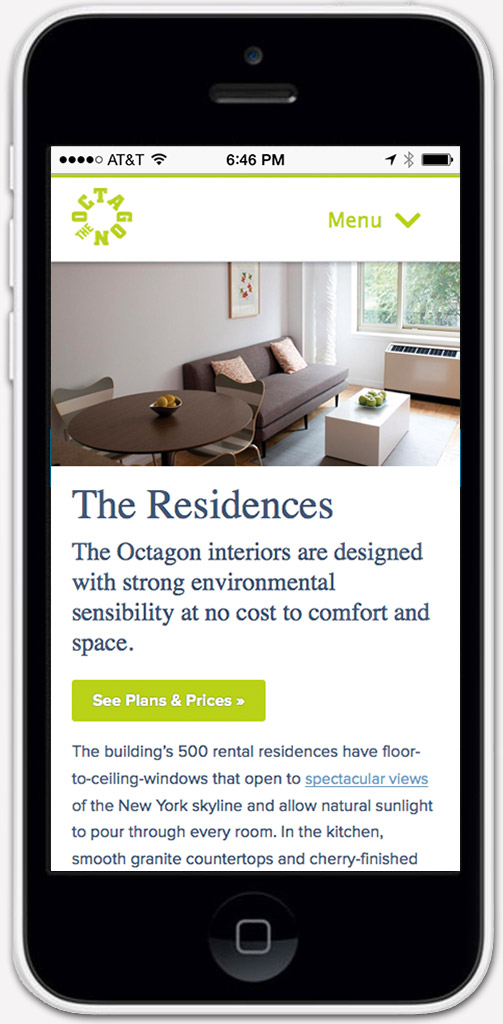 Real Estate Mobile Web Development