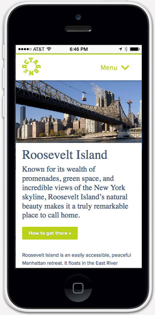 New York Real Estate Mobile Website Designer
