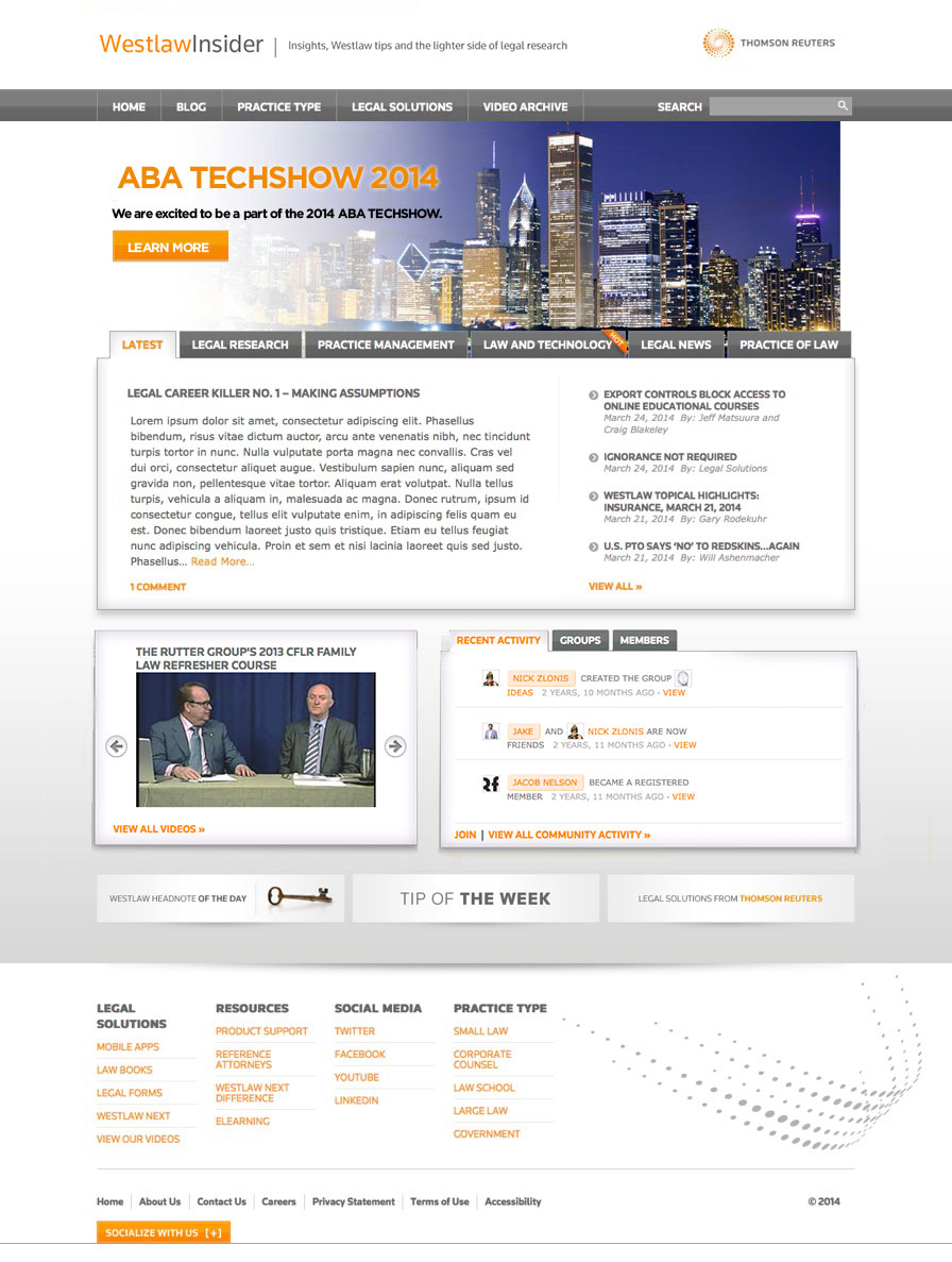 Thomson Reuters Westlaw Insider