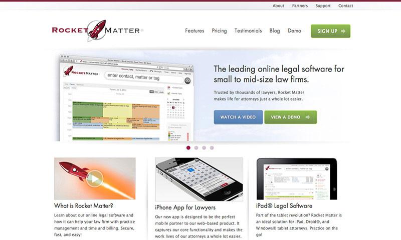 Rocket Matter Legal Software Design